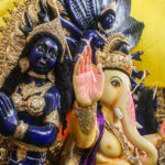 Lord Ganesha and Krishna Idol