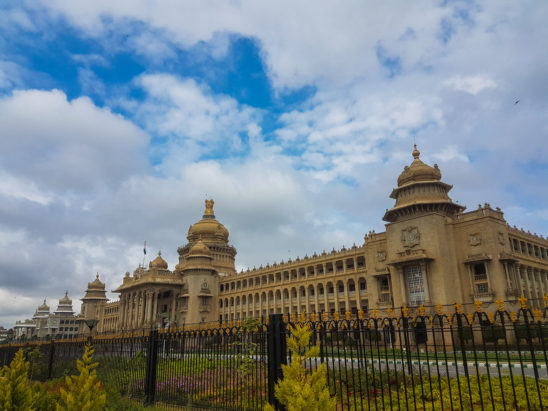 Bird Eye view of Vidhana Soudha