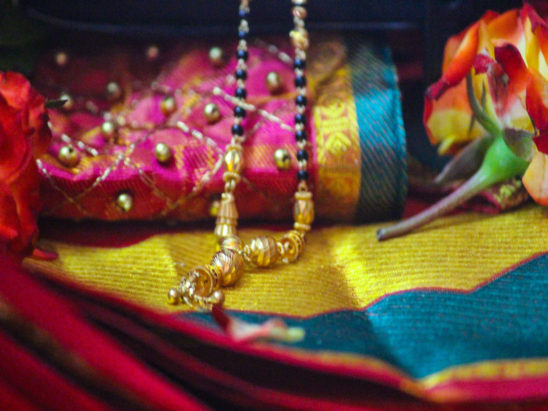 Saree and Jewelry