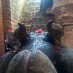 Lord Nandi in Shiva Temple