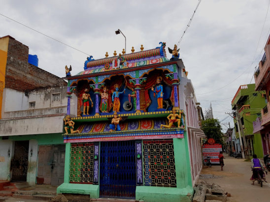 Small temple in Road Corner