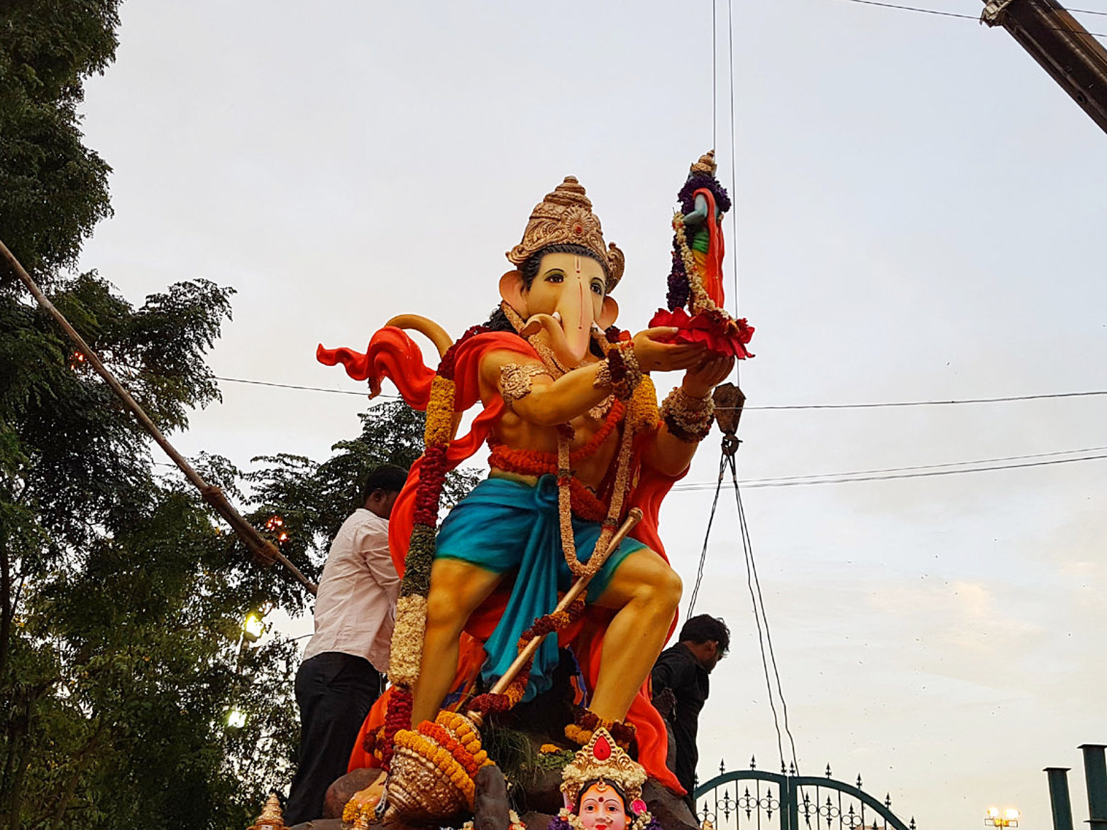 Ganesh Idol Immersion