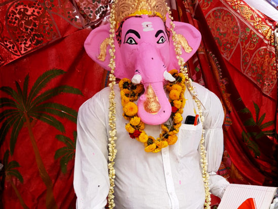 ganesh with shirt