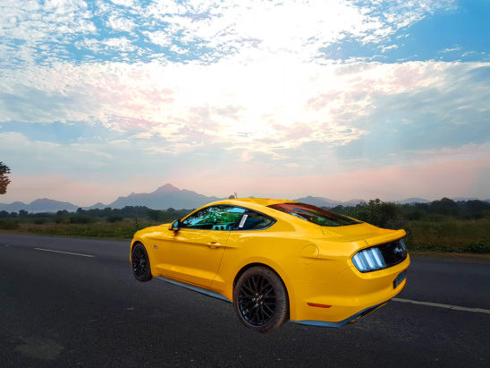 journey in ford mustang