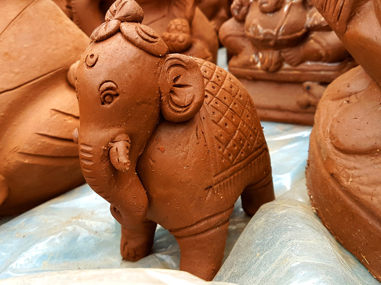 Clay Toy Ganesh
