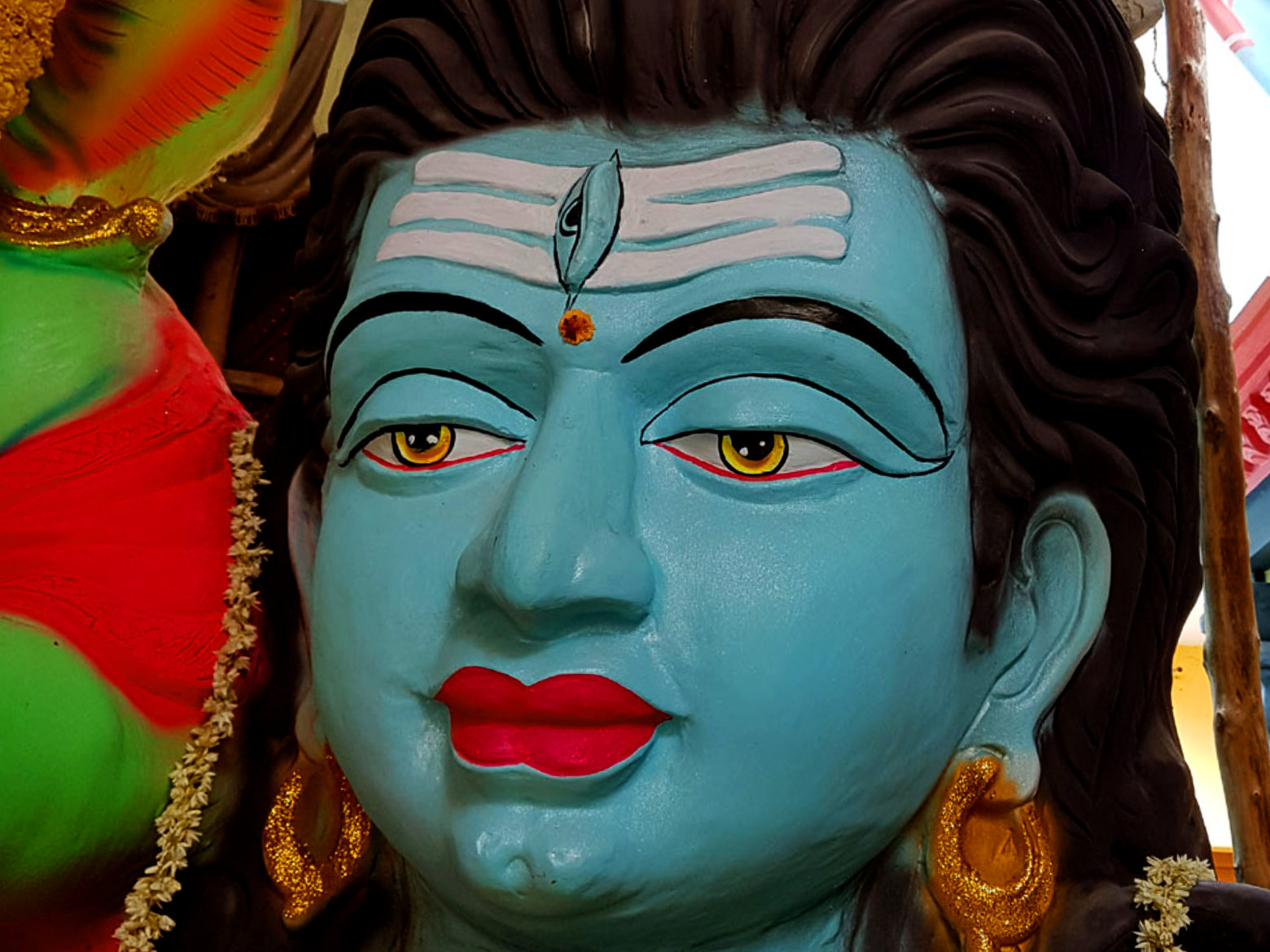 Lord Shiva Face