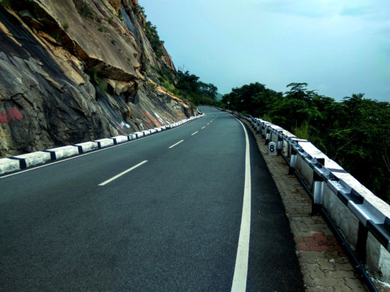 Roads on Tirumala Hills
