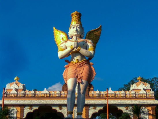 garuda idol in tirumala