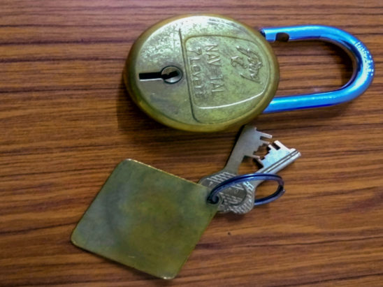 old lock with keys
