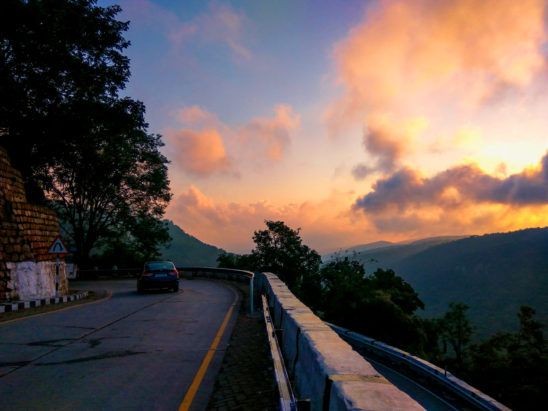 Early morning Drive in Tirumala HIlls